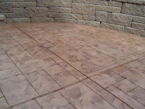 Stamped Decorative Concrete Calgary